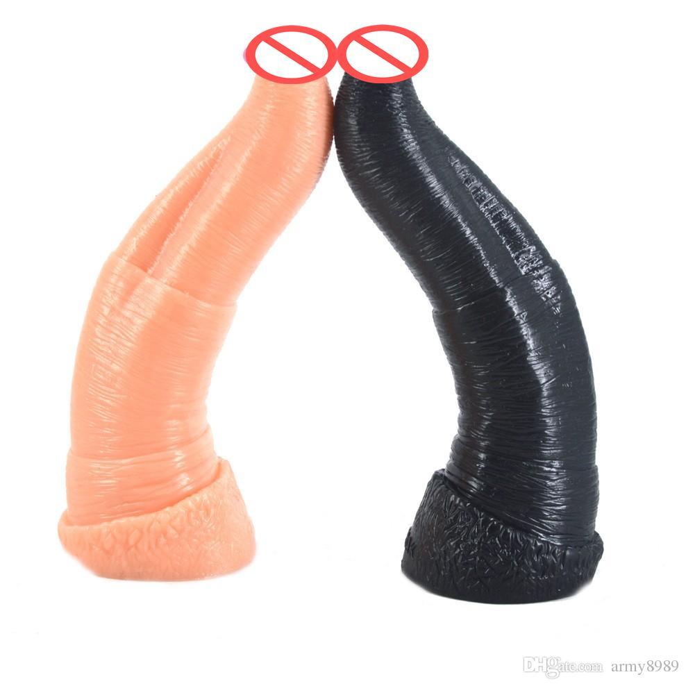 New Elephant dildo animal 269*55mm huge big large giant dildos artificial flesh/black penis faek dick sex toys for woman