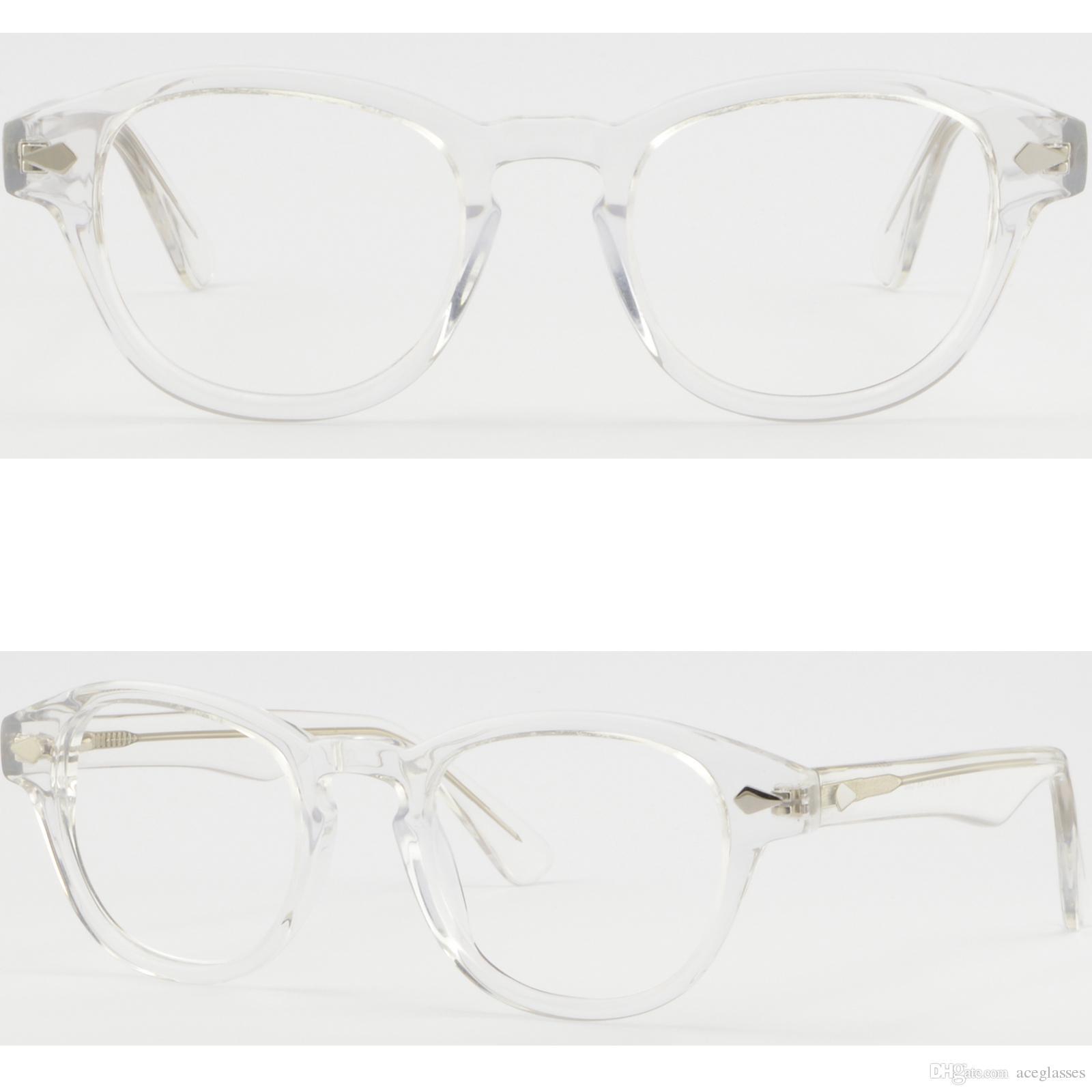 Men\'S Women\'S Plastic Frame Clear Transparent Prescription Glasses ...