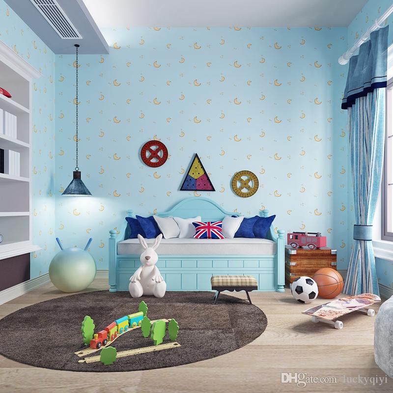 Großhandel Neue Baby Glückliche Kinderzimmer Wand Papier Junge ...