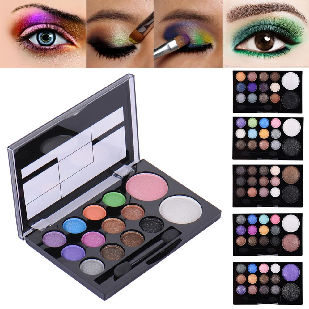 Precise Natural Smoky Cosmetic Set 3 Colors Professional Natural Matte Makeup Eye Shadow 2019 New Fashion Waterproof Drop Shipping Eye Shadow