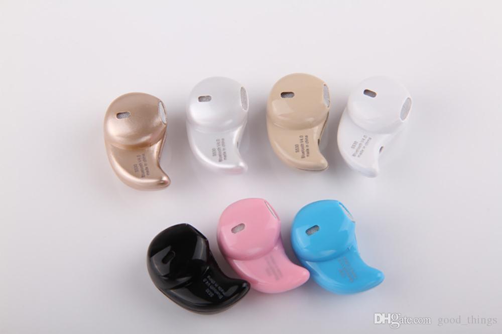 Hot Mini Bluetooth 4.0 S530 écouteurs stéréo dans l'oreille