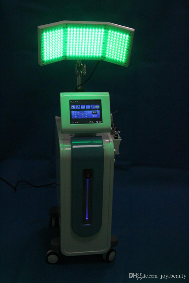 De calidad superior multifunción Hydra facial PDT Bio-Light Therapyskin rejuvenecimiento eliminación de arrugas piel cuidado facial Hydradermabrasion Spa máquina