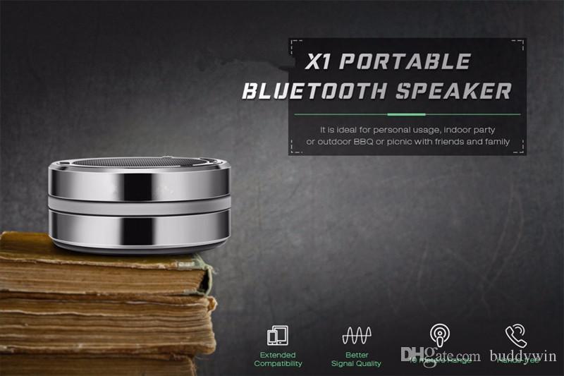 제품과 함께 X1 블루투스 스피커 미니 무선 Bleutooth 스피커 지원 TF 카드 전화 기능 Handfree