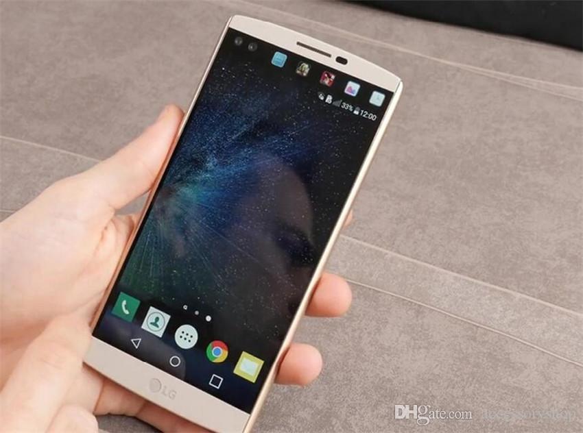 Refurbished Original LG V10 4G LTE H961N H900 H901 5.7 inch Hexa Core 4GB RAM 64GB ROM 16MP Camera Unlocked Mobile Cell Phone DHL