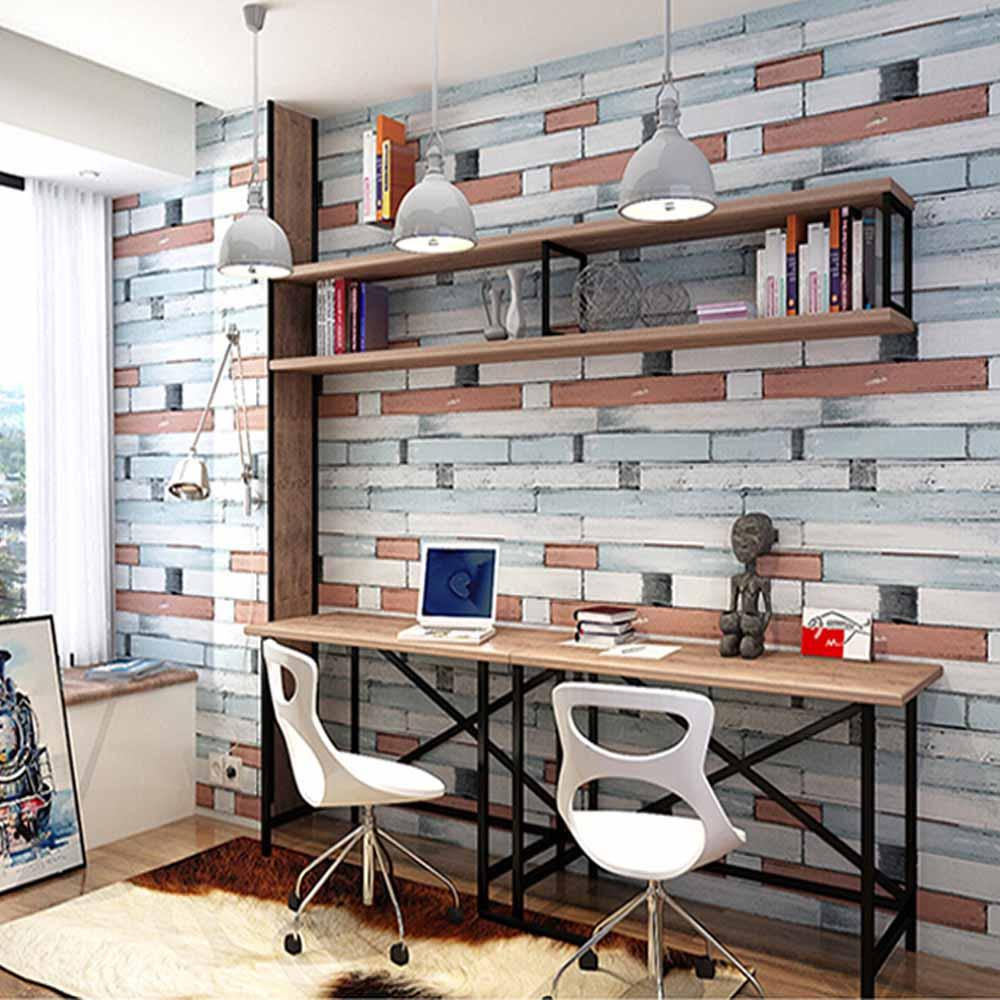 Wholesale Self Adhesive Brick Stone Wallpapers Wall Paper