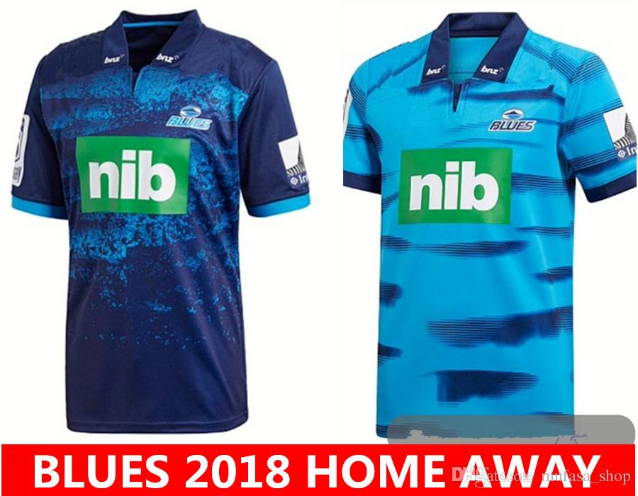 Blues 2018 2019 Home Away Rugby Jerseys NRL National Rugby League ... 6851e76b1