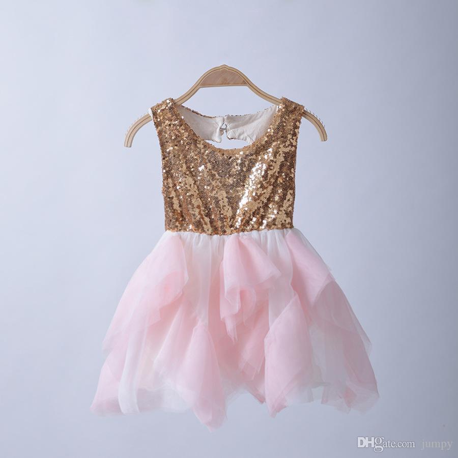 Großhandel Baby Bling Bling Partei Kleid Mädchen Prinzessin Tutu ...