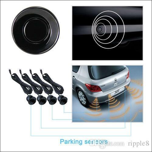 Wireless Led Display Parkplatz Sensor 4 433 MHZ BiBi Sound PZ300-W PZ303-W Automatisch Arbeiten Freies Post ePaket