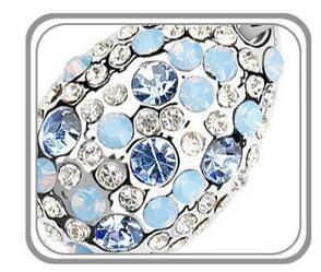 2017 new 1000SE Produtos de qualidade mulher Colar De Cristal Cyclamen High-end Ornamentos Pingente de venda por atacado de jóias