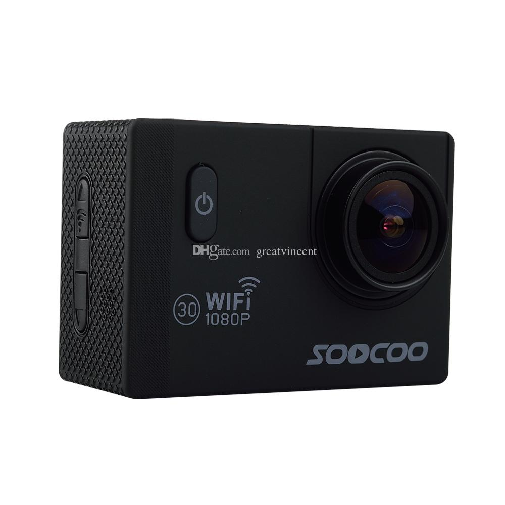 SOOCOO C10S Action Sports Cam Waterproof Camera with Wifi Full-HD 1080p 12MP 2.0 LCD 170 Degree Wide Lens Car Camera