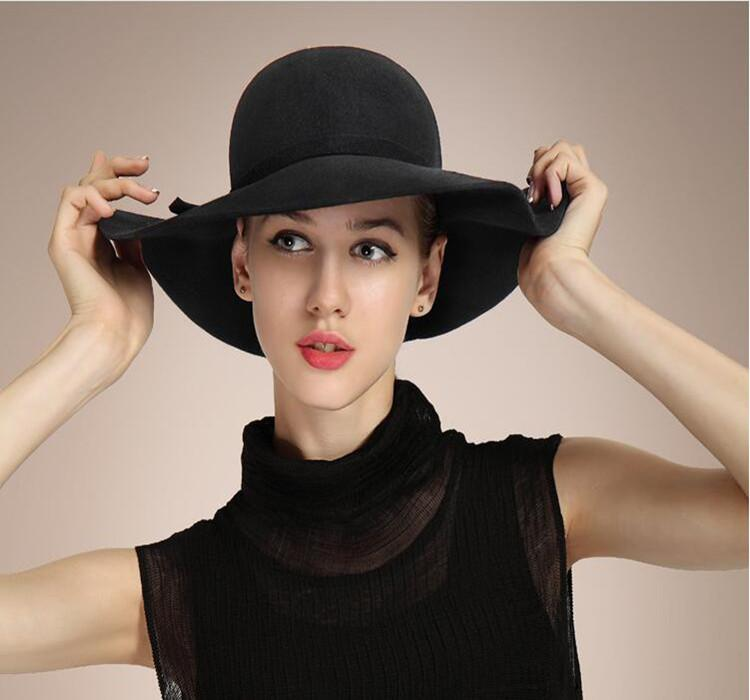Ms. Qiu Dong the Day Wool Wavy Dome Costume Ms Wool Hats Wholesale Big Hat  Dome Costume Online with  11.64 Piece on Mary3788 s Store  f2d256844536