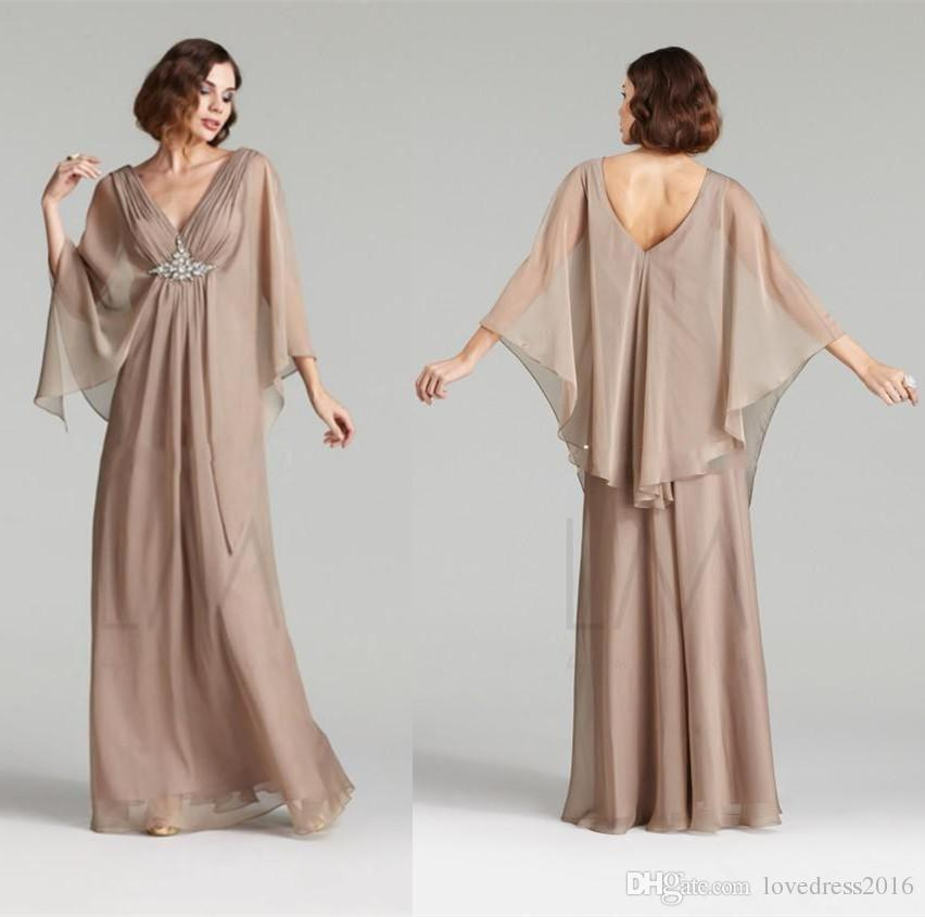 Generous Chiffon Long Mother Of The Bride Dresses With