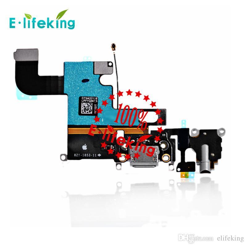 Chargeur Dock Connector Pour iPhone 6 6 Plus 6 S 6 s Plus Port de charge Flex Câble Remplacement du ruban avec Livraison gratuite