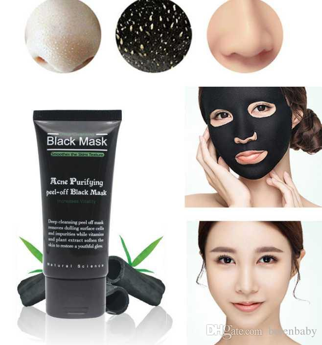 Black Mask Facial Mask Nose Blackhead Remover Peeling Peel Off Black Head Acne Treatments Face Care Suction