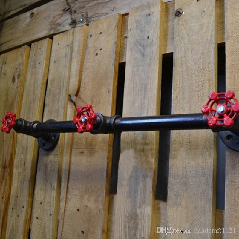 Industrial Vintage Metal clothes hooks Coat Rack Iron Decorative Wall Coat Hanger Hooks for Living Room Furniture -Z41