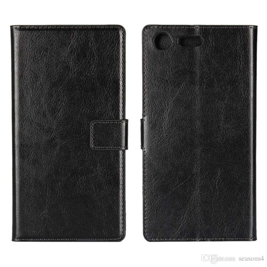 Cell phone case For Sony xperia XZ/XZ Premium Wallet PU Leather Case For Sony xperia X Compact/ x performance Cover Pouch with Card Slot