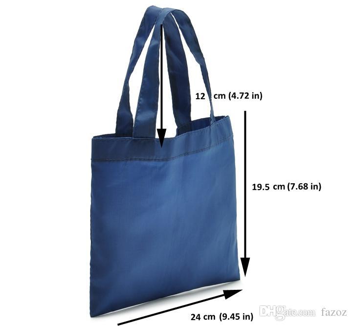 Femmes Sac étanche MiniLunch Décontracté Téléphone mobile fourre-tout Sac Respectueux de nylon réutilisable pliable Sac à poignée supérieure petit sac à main fourre-tout