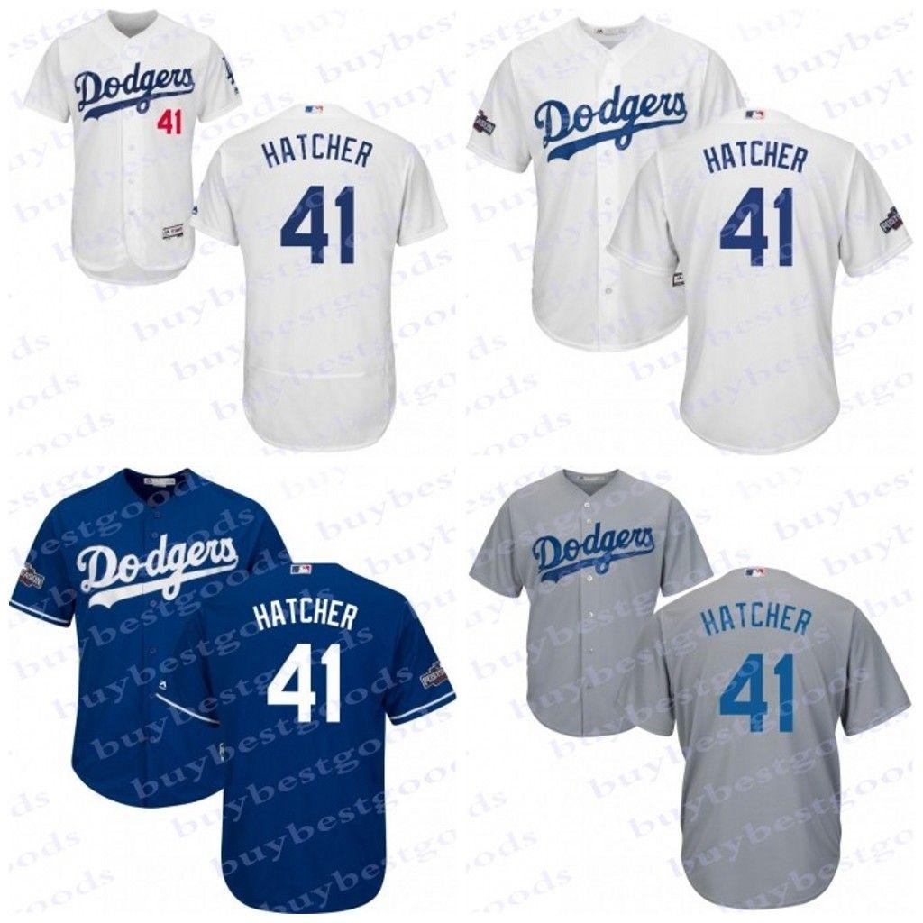 717b2c950d7 ... 2017 Men S Youth Los Angeles Dodgers Jerseys 41chris Hatcher ...