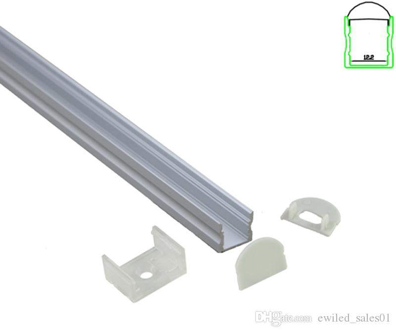 10 X 1M setsAnodized U aluminium profile and Al6063 T6 led aluminum extrusion for ceiling or wall lights