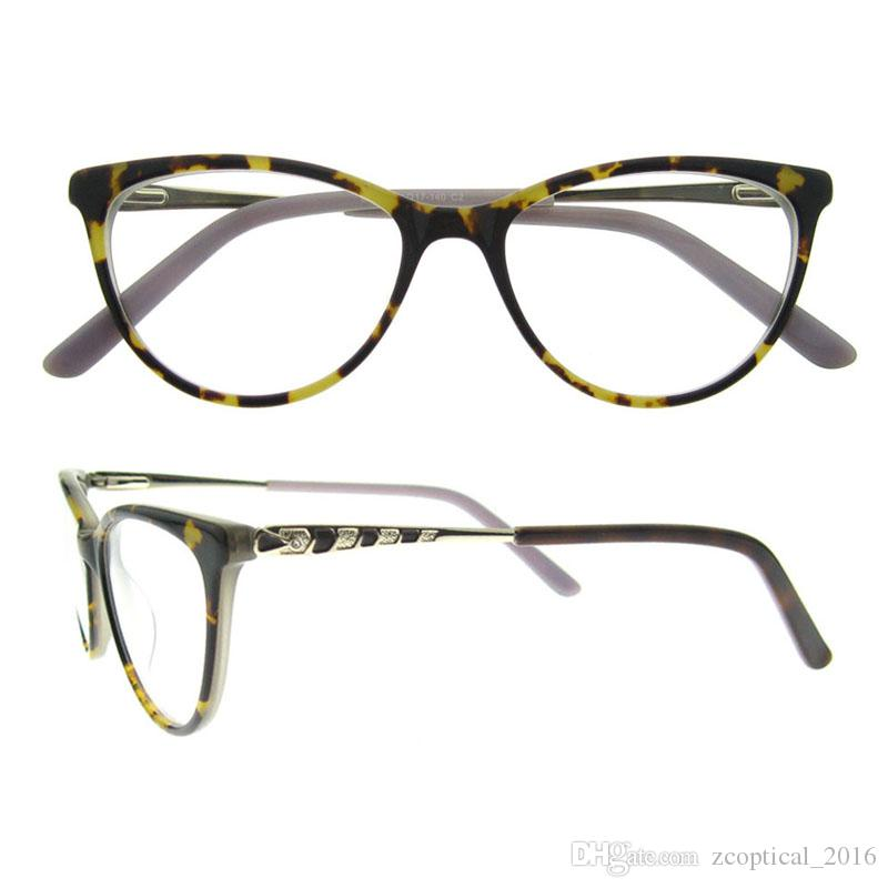 Newest Design Women\'S Fashion Eyewear Vintage Optical Glasses Frame ...
