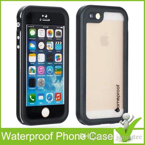 For iPhone 5/5S/SE Fre Waterproof Phone Case Shock Proof Retail packaging High quality New fre Water/Dirt/Snow Proof protective case