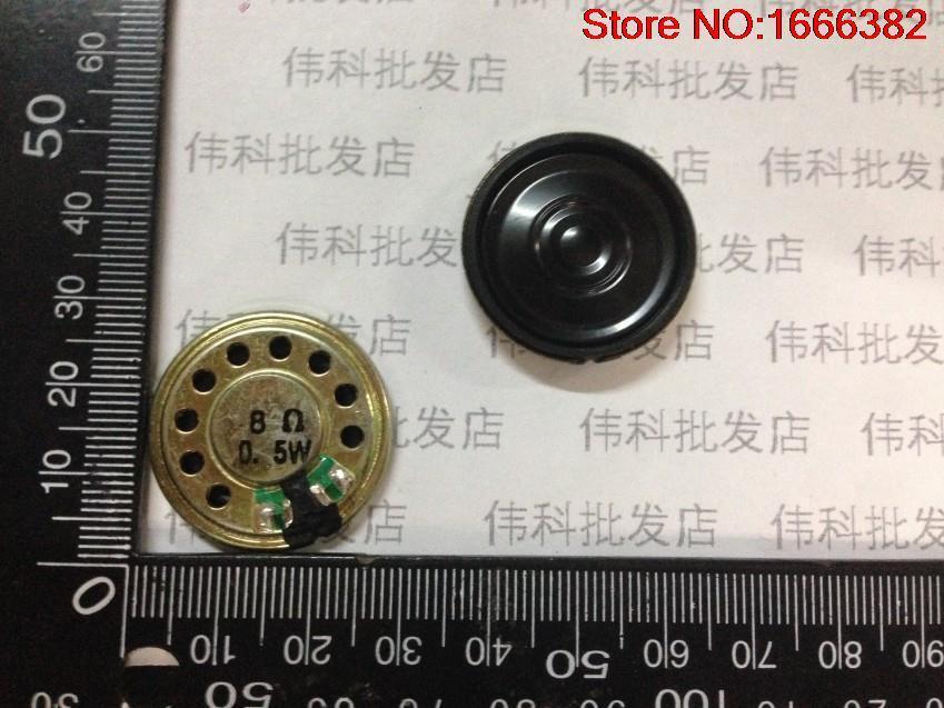 Consumer Electronics 1pcs 8r 0.5w Diameter 28mm Speaker Toys Speaker Speakers Doorbell Speaker Thickness 5mm Portable Speakers