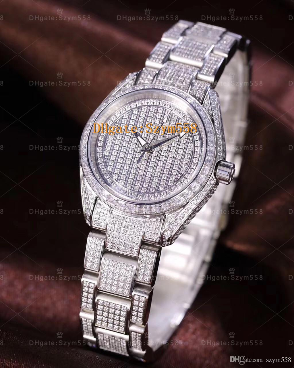 for brand alloy diamond women in steel luxury lover watch gold s wristwatches quartz item from fashion fake men watches