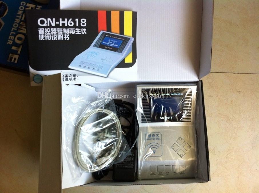 Vendita calda QN H618 programmatore chiave Più nuovo QN-H618 telecomando Master H618 Wireless RF copiatrice libera la nave Vendita superiore
