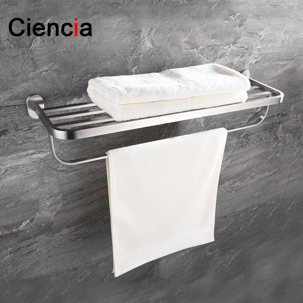 Elegant Double towel Rack Chrome