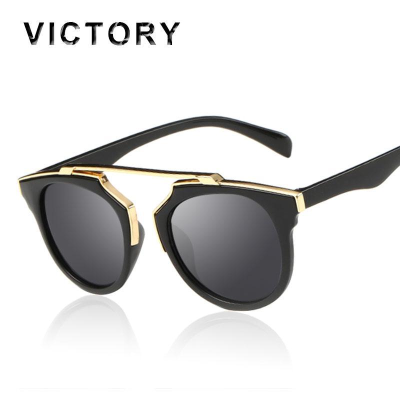 d41605245d Wholesale Fashion Women Small Face Clear Frame Mirror Sunglasses Classic  Coating Men CatEye Lady Female Cheap Shades Femme Oculos De Sol  Prescription ...