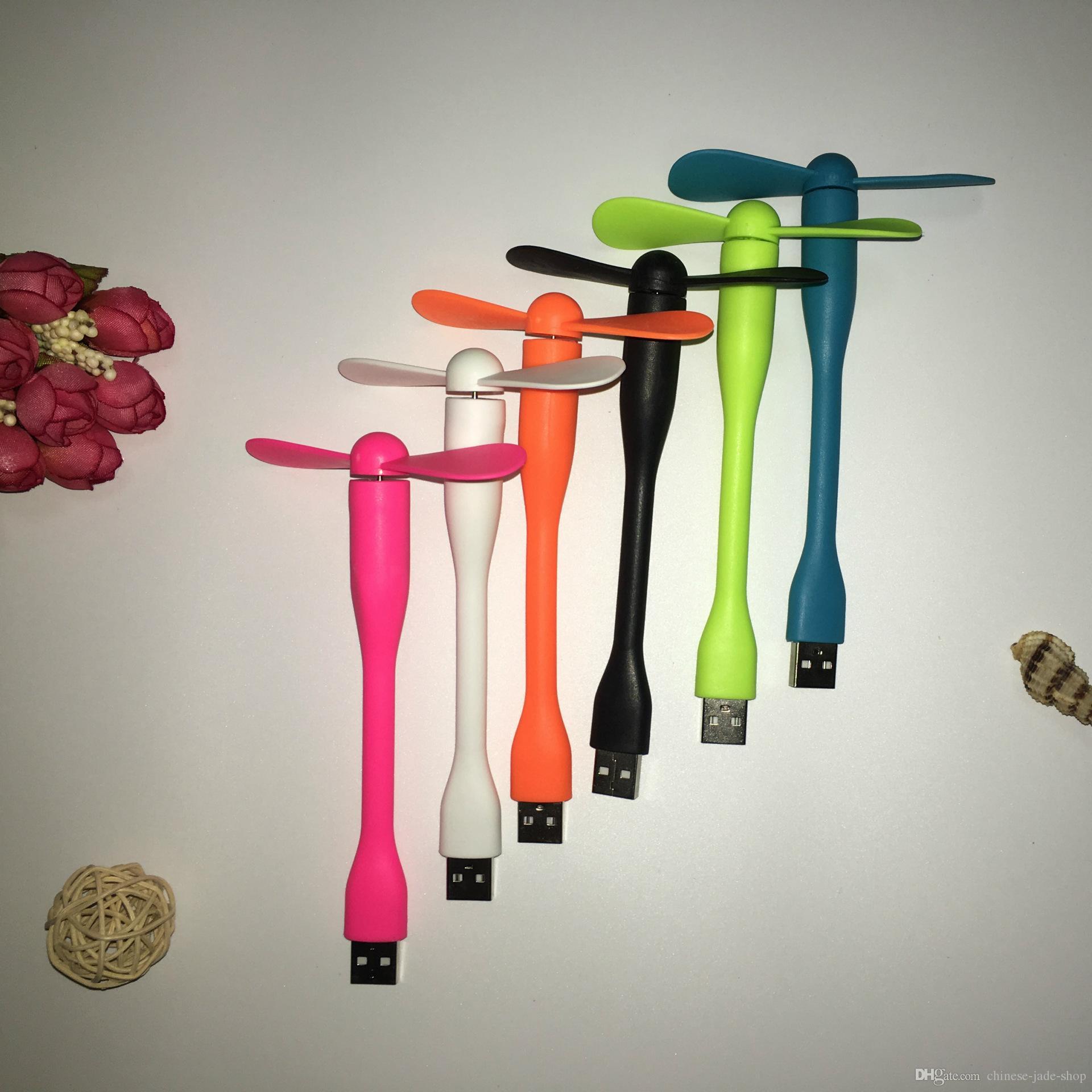 Tragbare TPE Mini-USB-Ventilator Smartphone-Power für Android Typ C 3 in 1 USB mit Paket /