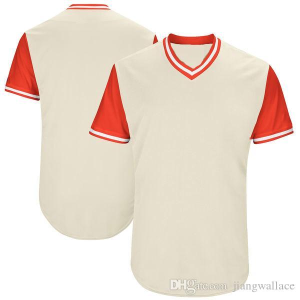 Fully Custom Ihr Team Firma Name Nummer Jersey personalisiert Jersey Baseball Jersey Gestickte Buchstaben Nummer