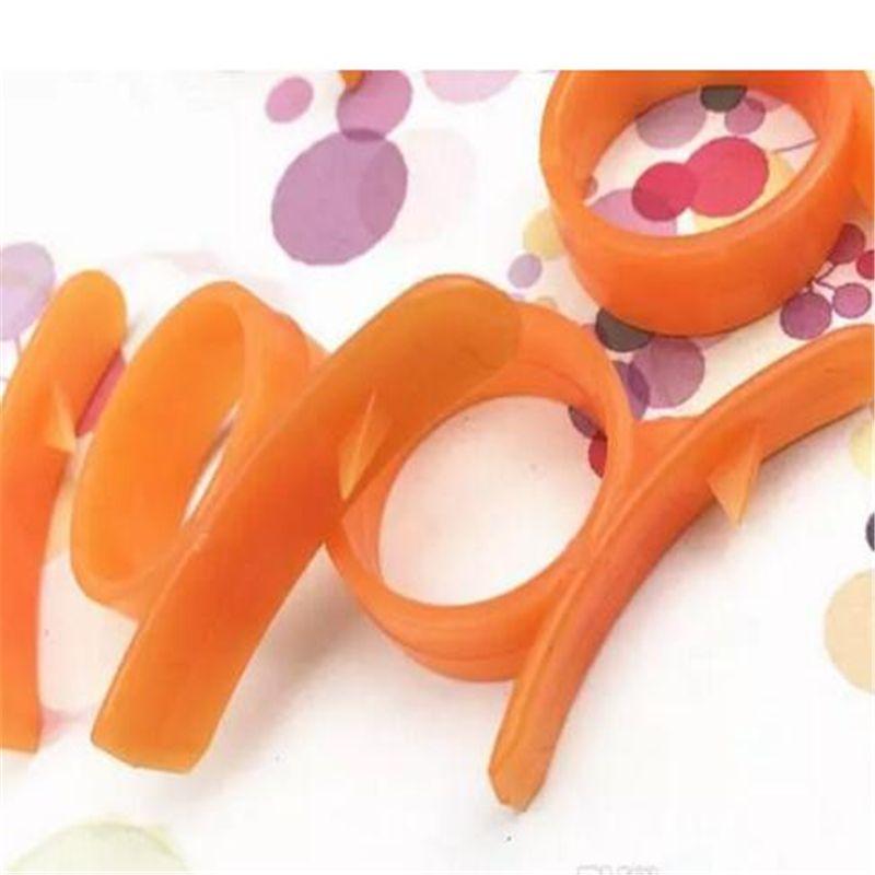 Orange Peelers Zesters Dispositif samll pratique Orange Stripper ouvre fruits légumes de cuisson Outils a69-a72