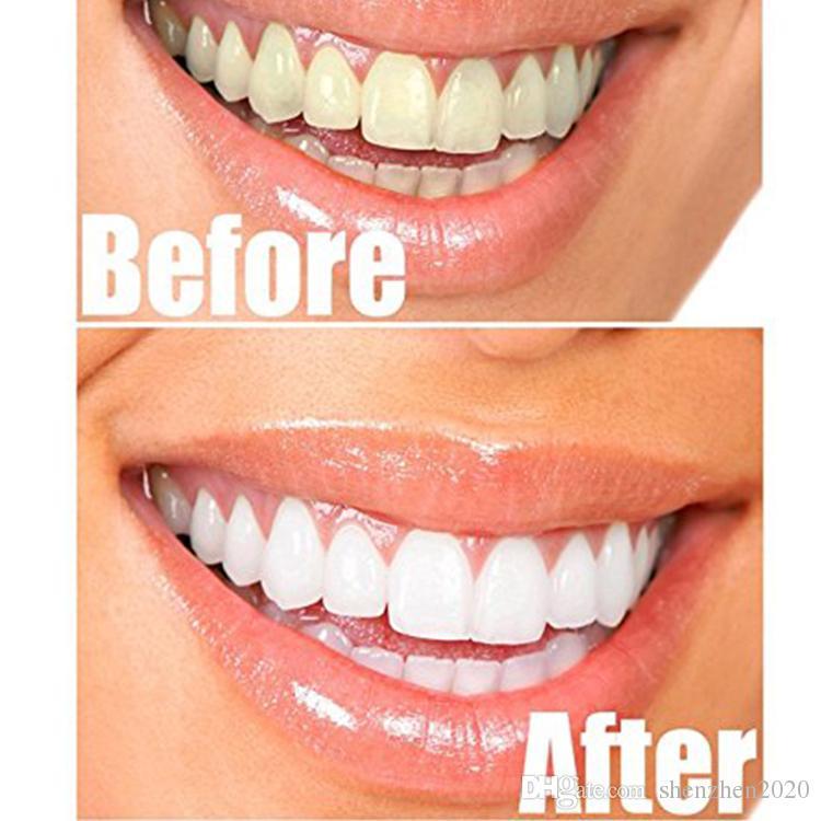 100٪ الطبيعية العضوية الفحم المنشط تبييض الأسنان الطبيعية مسحوق إزالة البقع الدخان الشاي القهوة الأصفر رائحة الفم الكريهة 30 جرام / زجاجة