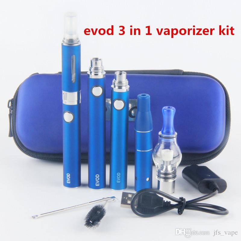 best evod 3 in 1 starter kits dry herb oil glass globe wax vaporizer pen kit dabber pen ago g5 mt3 glass globe tank ego kits e cig electronic cigar kit from