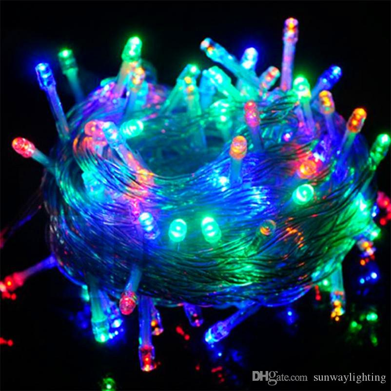 10m 100 Led Fancy Ball Lights Decorative Christmas Party Festival Twinkle String Lamp Garland Fairy Light Bulb From