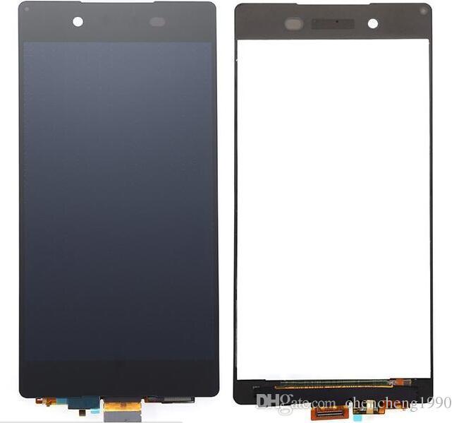 Boa qualidade brand new lcd touch screen digitador peças de reposição para sony z z1 z2 z3 compacto z3 mini z4 z1 mini m4 z5 premium z5 mini