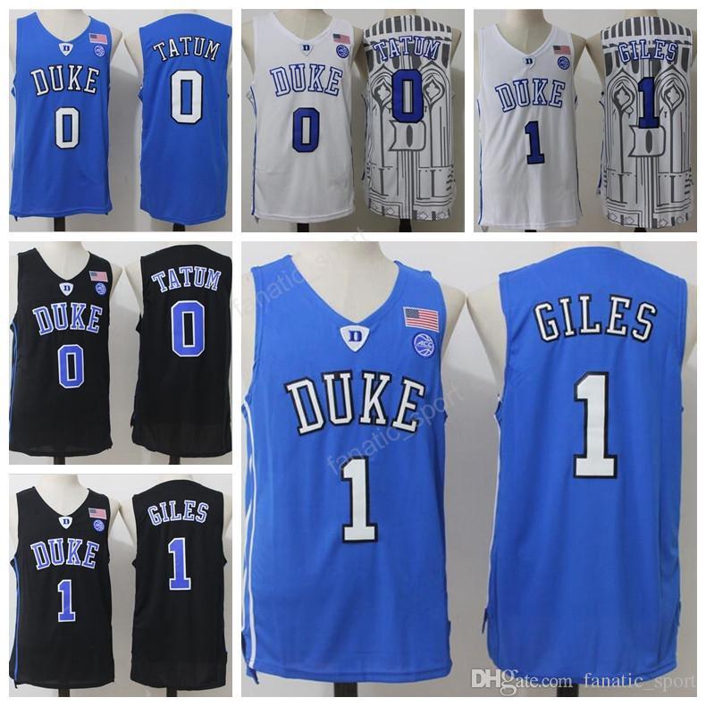 ... 2017 Duke Blue Devils College 1 Harry Giles Jersey 2017 Men 0 Jayson  Tatum Basketball Jerseys ... 303caef98