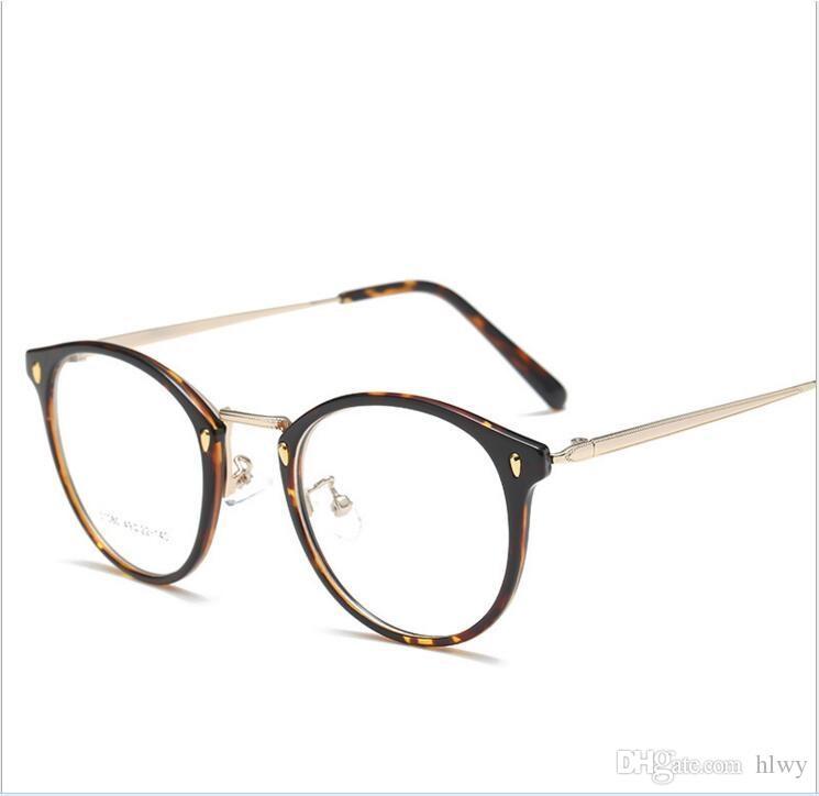 3a419e3e8b Mabron 2017 New Tr-90 Glasses Frame Metal Legs Artistic Circle Frame ...