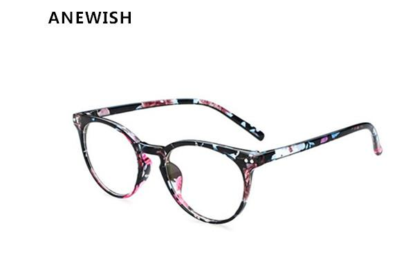0222f242538 Wholesale- ANEWISH Vintage Myopia Glasses Frame Women Eyeglasses ...