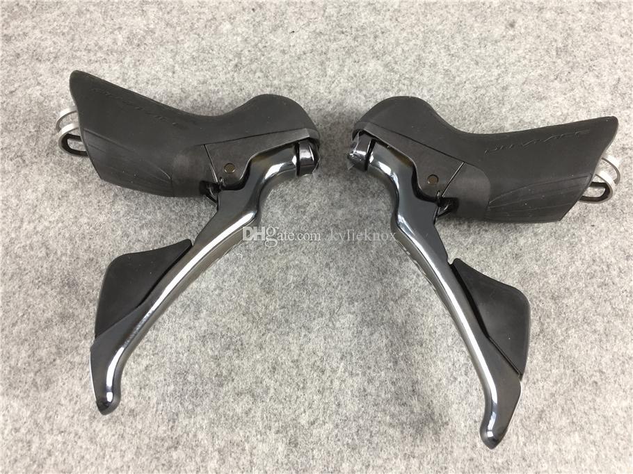 2018 R9100 dura-ace Groupset 50/34 T 53/59 T 170 / 172.5mm 2 * 11 22 Speed bicicleta de estrada groupset Peças Da Bicicleta frete grátis