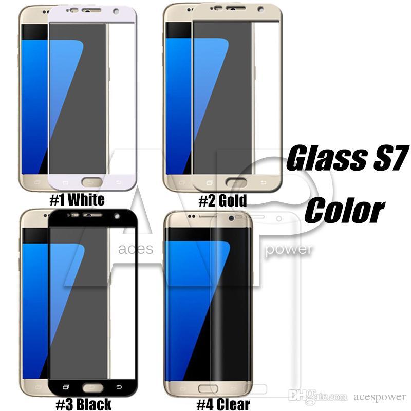 Iphone XS Max XR X 8 Vetro temperato curvo Samsung S10E S10 S8 S9 Plus