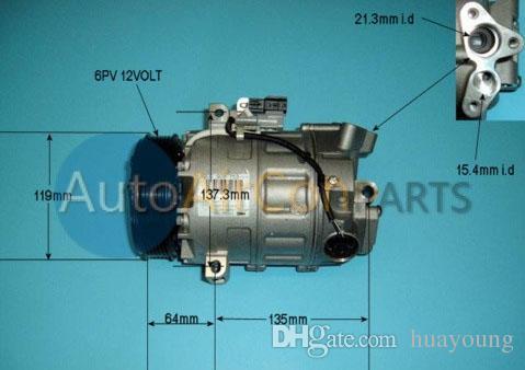 DSC17EC Kompressor passen Nissan X-Trail T31 NT31 2.0i 16V 2007-2016 92600EN22C 92600EN22A 92600EN22B 92600EN22D 8200720780