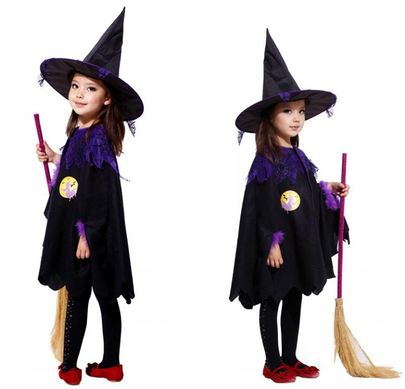 2018 Halloween Costumes Children Kids Baby Girl Witch Cosplay Costume Performance Clothes Cloak +Hat Snow White Kid Party Dress From Hopestar168 ...  sc 1 st  DHgate.com & 2018 Halloween Costumes Children Kids Baby Girl Witch Cosplay ...