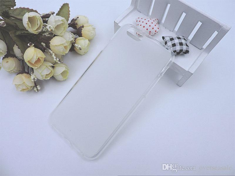 For Iphone 5 5S SE 6 6S 7 Plus 8&8G Matte skin Clear Crystal Soft TPU Gel Jelly back cover case