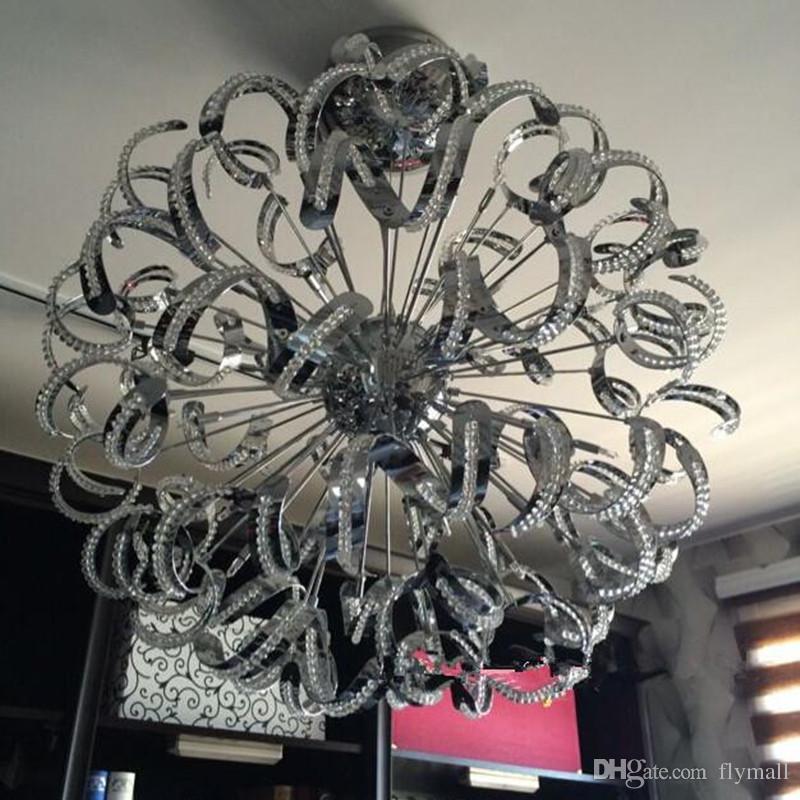 Modern Creative Pendant Lamp Luxury Crystal Chandelier Light Lamp ...