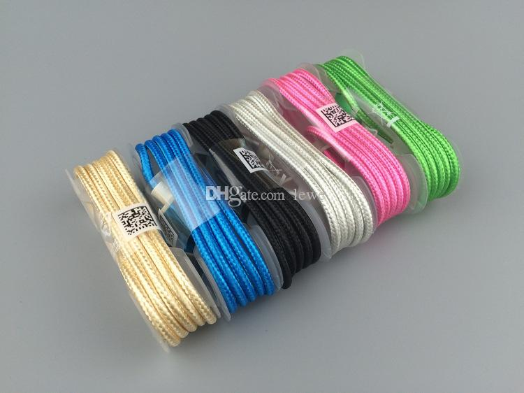 TYPE C Micro USB Cable nylon weave 1.5M USB 2.0 Data Sync and Charging for Android mobile