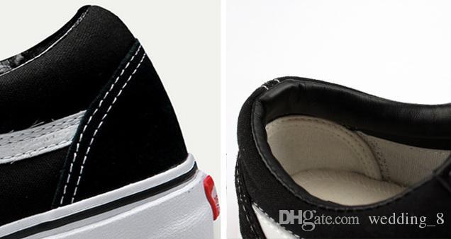 2017 Мода мужчины и женщины Холст Обувь Повседневная Обувь Студенческая пара с плоским дном обувь черный