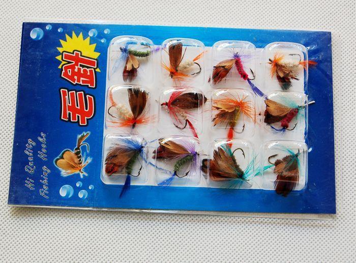 di Fishing Lure Esche insetti Bionic Mosche Farfalle Pesca a mosca mosche artificiali esche Attrezzatura da pesca Leurre Peche Pesca Ganci
