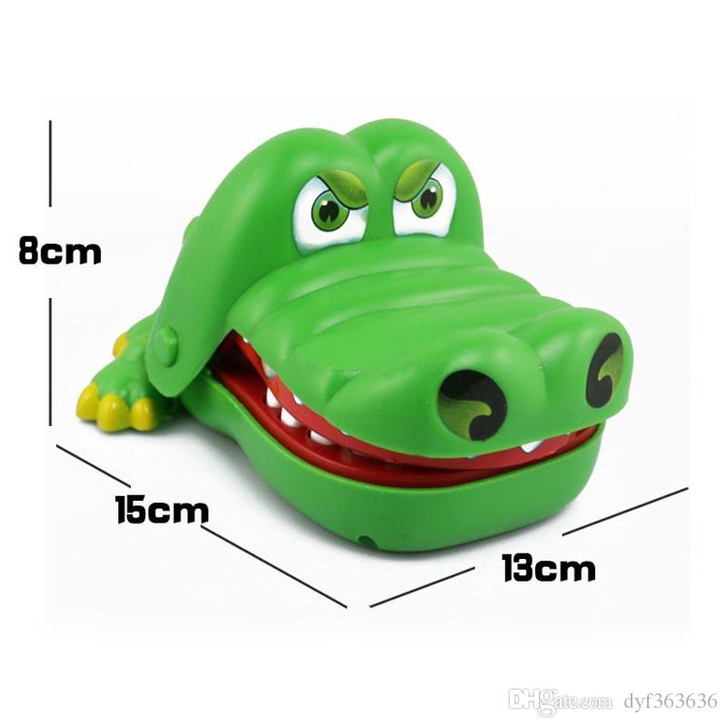 Creative Mouth Tooth Alligator Hand Children's Toys Family Games Classic Biting Hand Crocodile Game